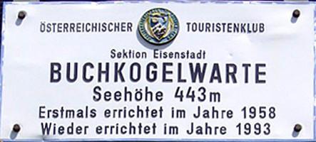 Buchkogelwarte des ÖTK